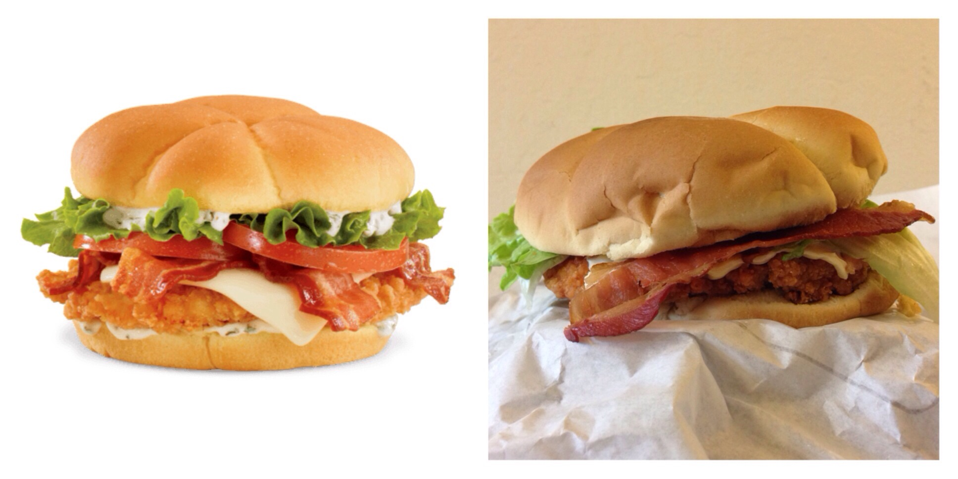 The Homestyle Ranch Chicken Club From Jack In Box