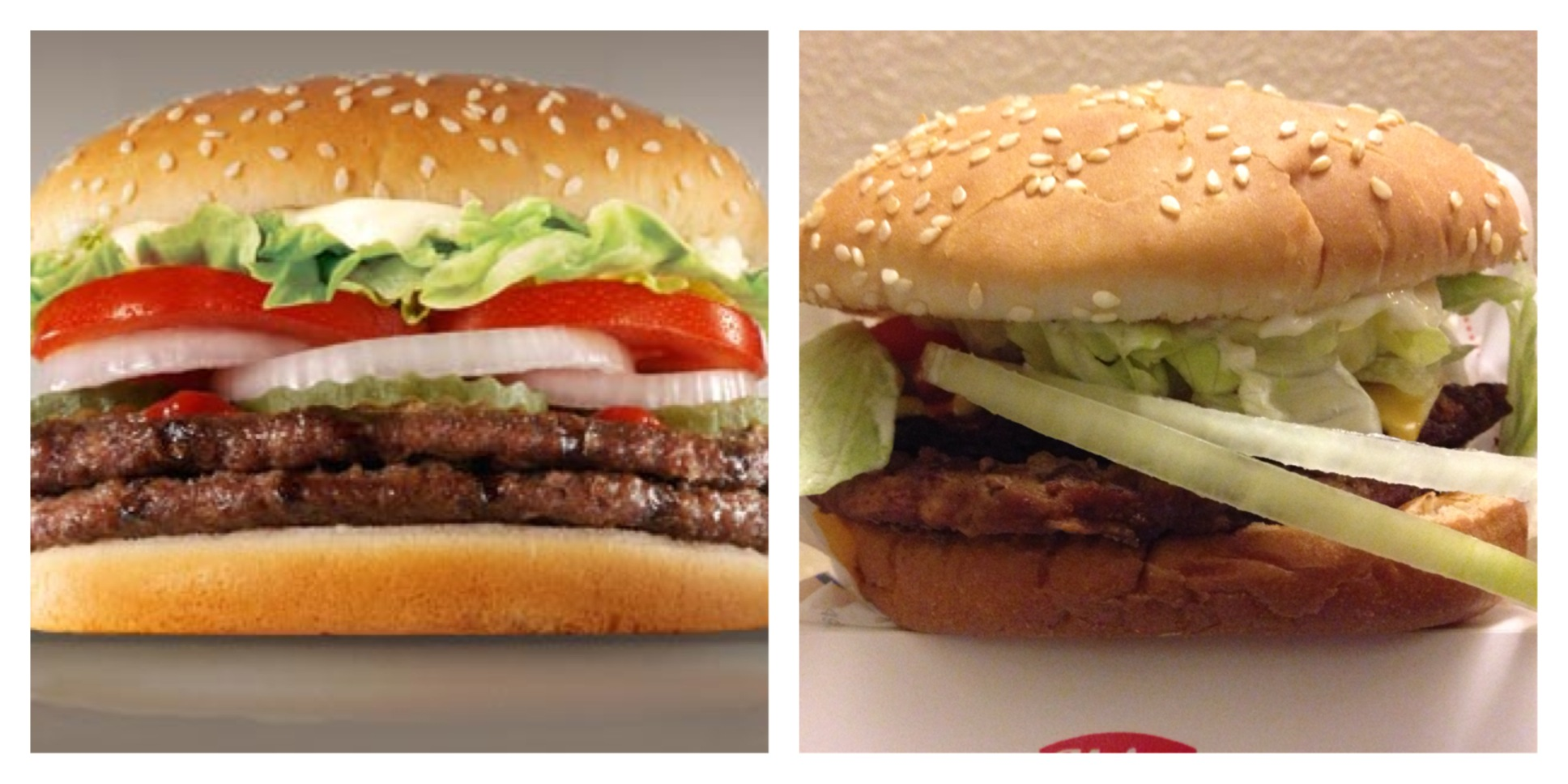 The Double Whopper With Cheese From Burger King