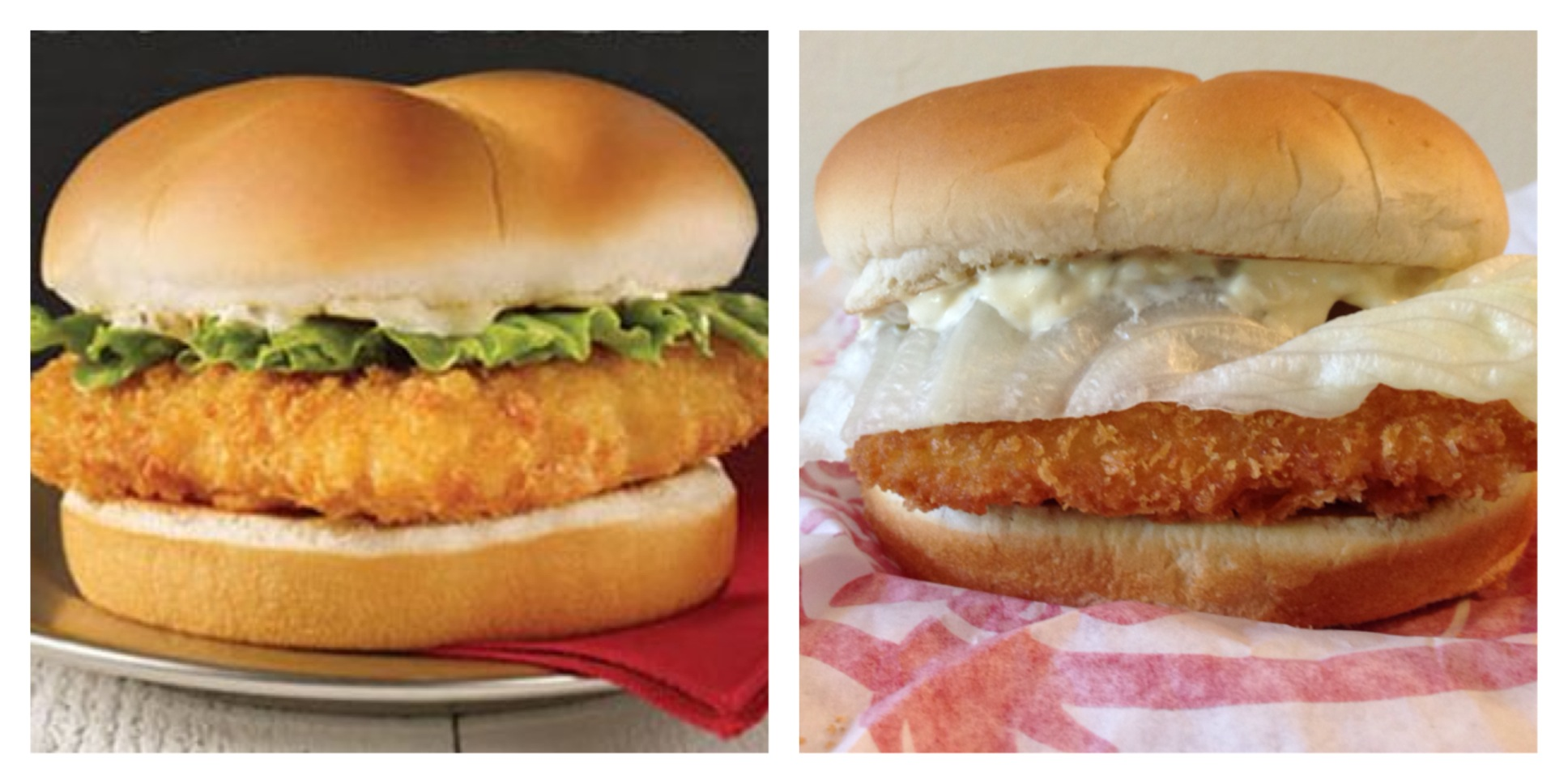 The premium cod fillet sandwich from wendy s for Wendy s fish sandwich