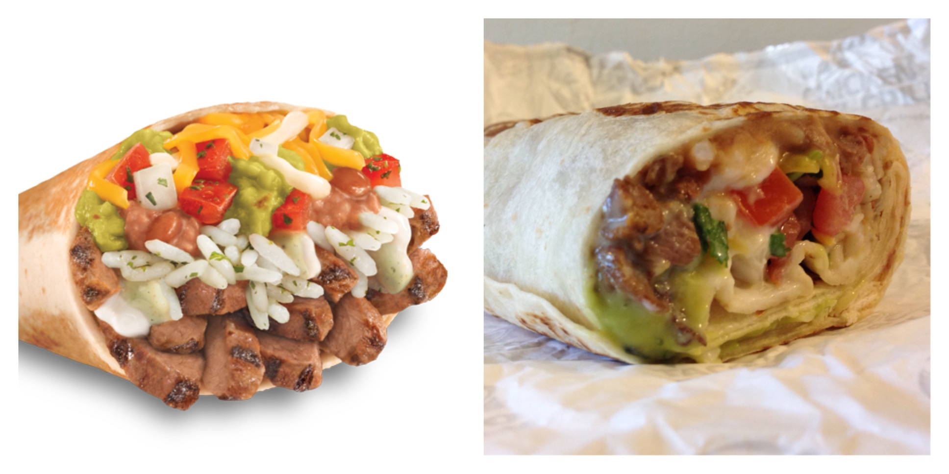 The XXL Grilled Stuft Steak Burrito from Taco Bell