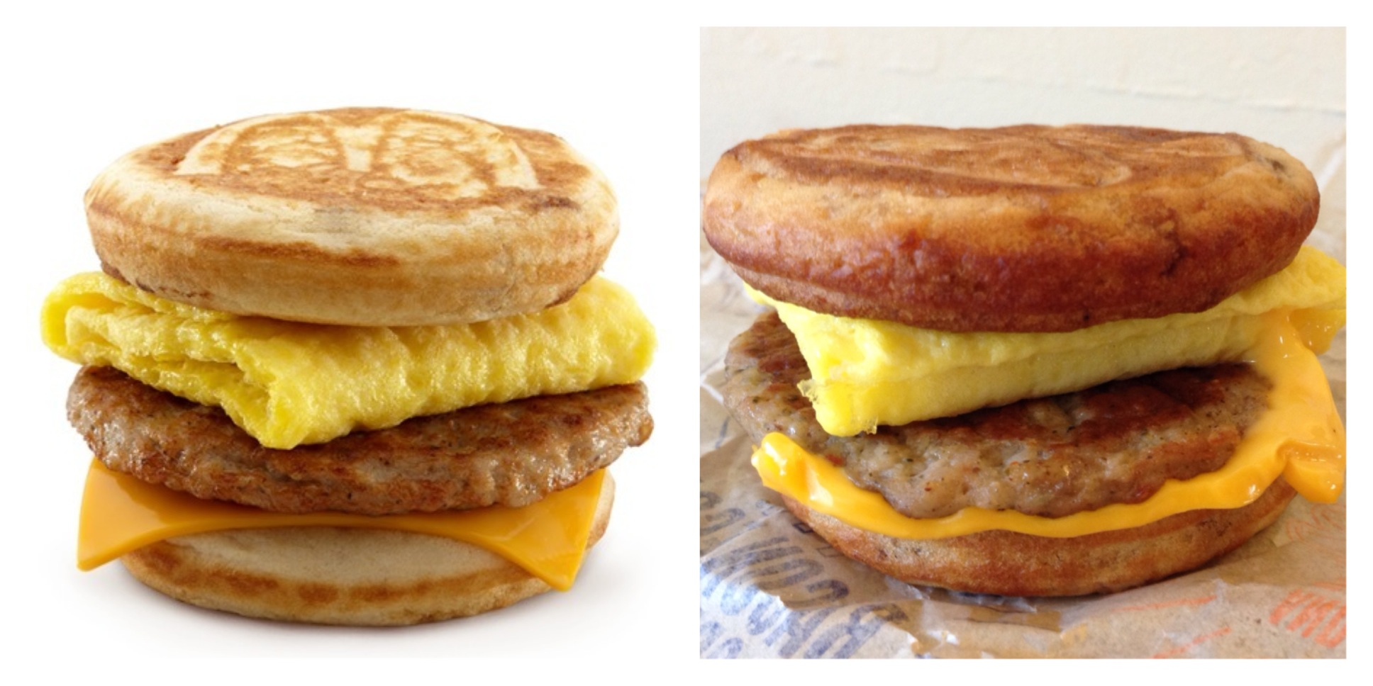 Sausage, Egg & Cheese McGriddle from McDonald's