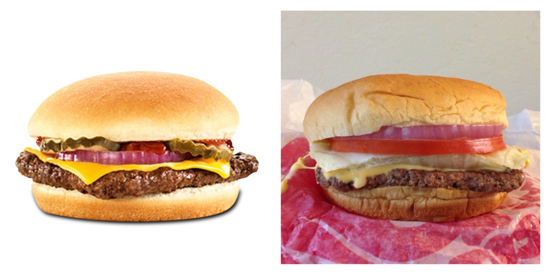 Wendys enkelt burger ernæring